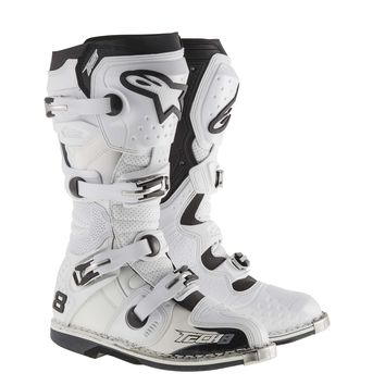 Bottes ALPINESTARS 2015 TECH 8 RS - Blanches