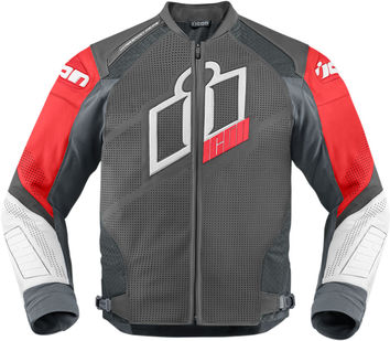 Blouson Cuir ICON 2015 Hypersport Prime Rouge