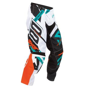 pantalon cross shot 2016 contact raceway orange mint 3as racing. Black Bedroom Furniture Sets. Home Design Ideas