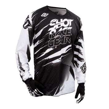 Maillot cross SHOT 2016 Devo Capture NOIR