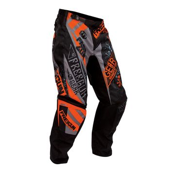 pantalon cross freegun by shot 2016 devo bandana gris orange 3as racing. Black Bedroom Furniture Sets. Home Design Ideas