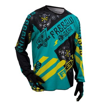 Maillot cross FREEGUN by Shot 2016 DEVO Bandana MINT/LIME