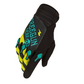 Gants cross FREEGUN by Shot 2016 DEVO Bandana MINT/LIME