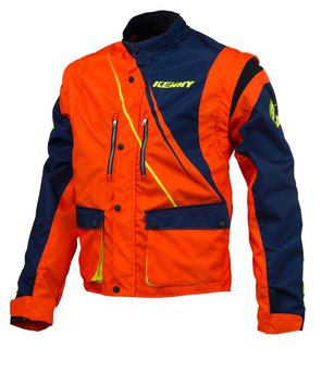 Veste Enduro Kenny 2016 TRACK  BLEU/ORANGE FLUO