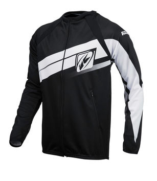 Casaque Zippée Enduro Kenny 2016 LIGHT NOIR/BLANC