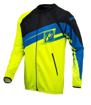 Casaque Zippée Enduro Kenny 2016 LIGHT JAUNE FLUO/CYAN