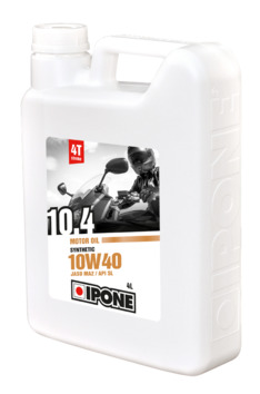 Huile moteur IPONE 10W40 10.4 Synthesis 4 Litres