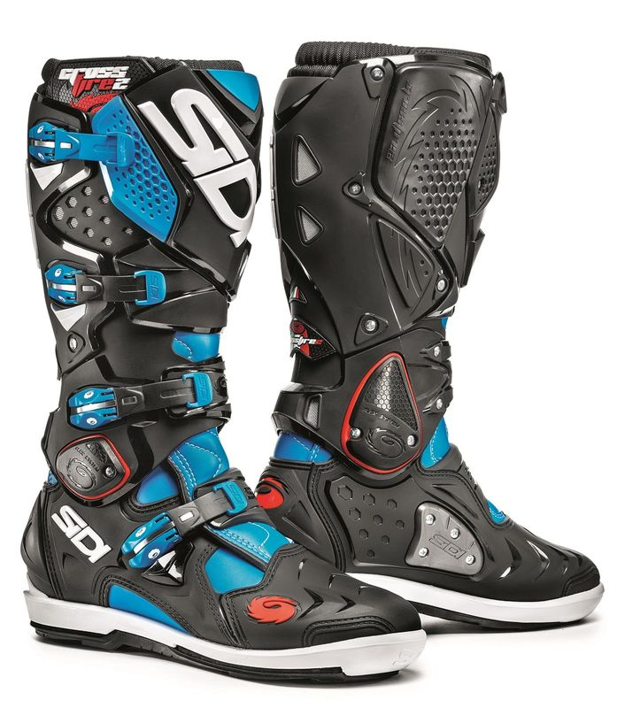 bottes sidi crossfire 2 srs 2016 noir turquoise 3as racing. Black Bedroom Furniture Sets. Home Design Ideas