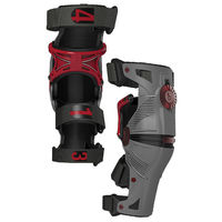 Genouillere Orthese MOBIUS X8 gris rouge