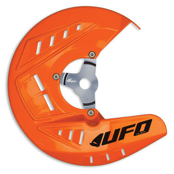 Protection disque UFO OVERSIZE KTM SX SXF EXC EXCF 2010-2014 Orange