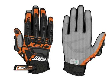 Gants cross Leatt Brace GPX 5.5 WINDBLOCK Noir Orange