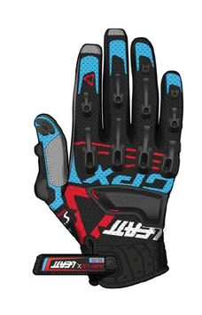Gants cross Leatt Brace GPX 5.5 WINDBLOCK Noir Bleu Rouge