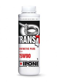 Huile boite pont IPONE Trans 4 75W90 Synthethic 4T 1 Litre