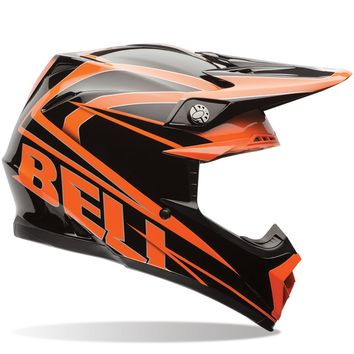 Casque cross BELL 2016 MOTO 9 Tracker Orange