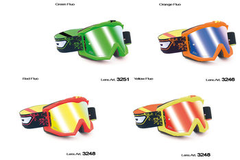 Lunettes PROGRIP Multilayered Fluo 3204
