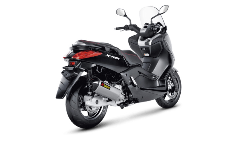 silencieux akrapovic inox mbk skycruiser 125 abs 2011 yamaha x max 125 abs 2011 2016 3as racing. Black Bedroom Furniture Sets. Home Design Ideas