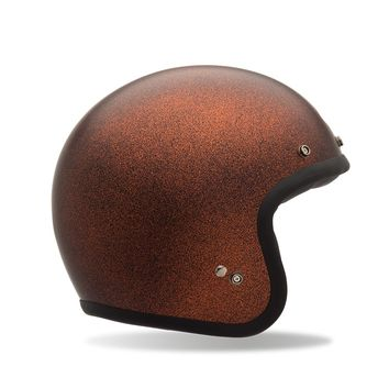 Casque BELL Custom 500 Flake Orange Mat