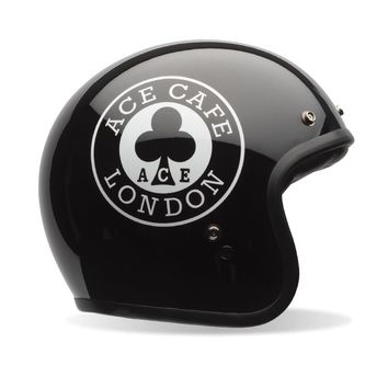 Casque BELL Custom 500 Ace Cafe Noir