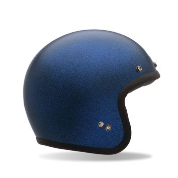 Casque BELL Custom 500 Flake Bleu Mat