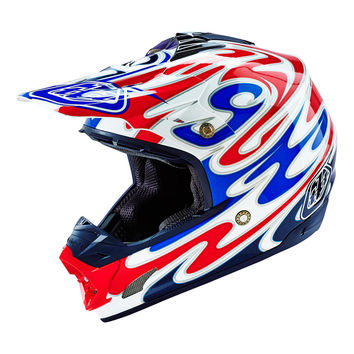 Casque TROY LEE DESIGNS 2016 SE3 Reflection Blanc