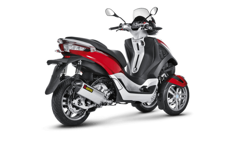 silencieux akrapovic inox piaggio mp3 yourban 300 300 lt 2011 2016 3as racing. Black Bedroom Furniture Sets. Home Design Ideas
