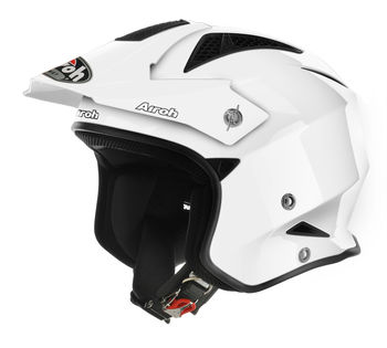 Casque cross Airoh TRR S Color - Blanc Brillant