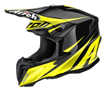 Casque cross AIROH 2016 Twist Freedom Jaune Brillant
