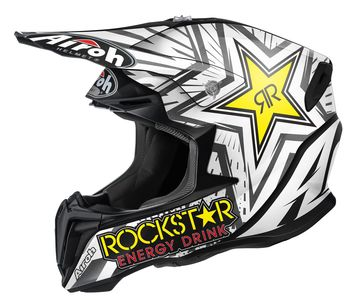 Casque cross AIROH 2016 Twist Rockstar Mat