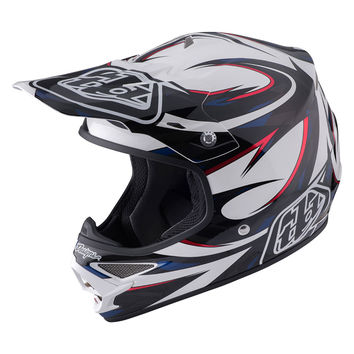 Casque cross Troy Lee Designs 2017 Air Vortex Blanc