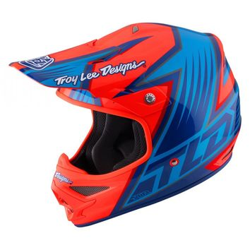 Casque cross Troy Lee Designs 2017 Air Vengeance Orange