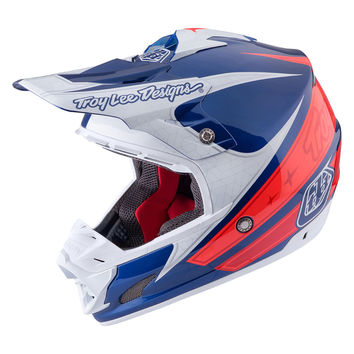 Casque cross Troy Lee Designs 2017 SE3 Corse 2 Navy