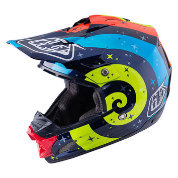 Casque cross Troy Lee Designs 2017 SE3 Phantom Navy