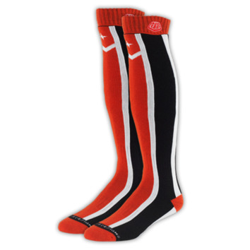 Chaussettes Troy Lee Designs Factory Rouge