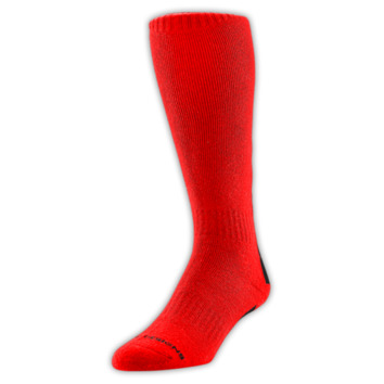 Chaussettes Troy Lee Designs Hole-Shot Rouge