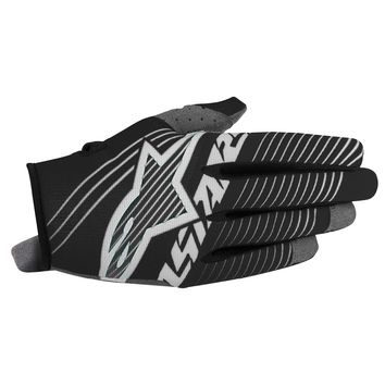 Gants Cross Alpinestars 2017 Radar Tracker Noir Blanc