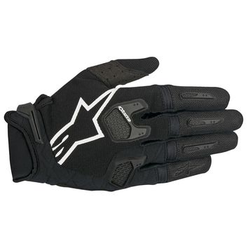 Gants Cross Alpinestars 2017 Racefend Noir Blanc