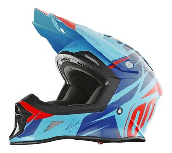 Casque Cross Shot Striker Exod Mint/Rouge