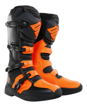Bottes Cross Shot 2018 X11 Orange Fluo