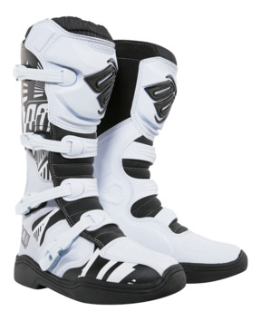 Bottes Cross Shot X11 Blanc Motif