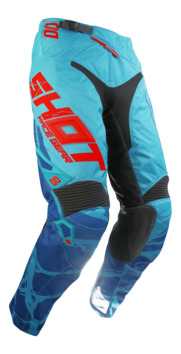 Pantalon Cross Shot 2017 Aerolite Magma Mint/Rouge