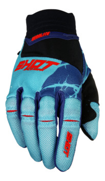 Gants Cross Shot 2017 Aerolite Magma Mint/Rouge