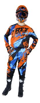 Tenue Cross 2017 Freegun Devo Honor Orange Bleu