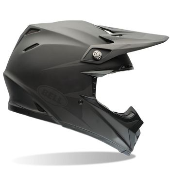 Casque cross Bell Moto-9 Carbone Flex Syndrome - Noir Mat