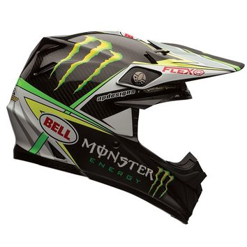 Casque cross BELL 2016 MOTO 9 Carbon Flex Pro Circuit Réplica