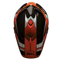 Casque cross BELL 2016 MOTO 9 Carbon Flex Factory - Orange Noir 55/56 - S