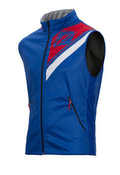 Body Warmer Enduro Kenny - Bleu Rouge