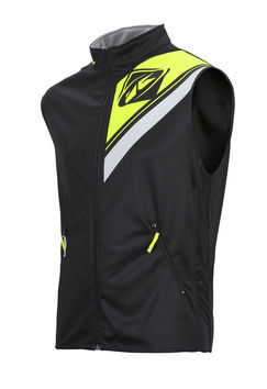Body Warmer Enduro Kenny - Noir Jaune Fluo