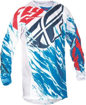 Maillot Cross 2017 Fly Kinetic Relapse Rouge/Blanc/Bleu
