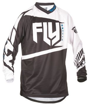 Maillot Cross 2017 Fly F-16 Noir/Blanc