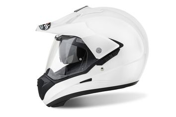 Casque cross AIROH 2017 S5 - Blanc Brillant